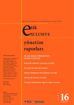 etik yönetim raporları