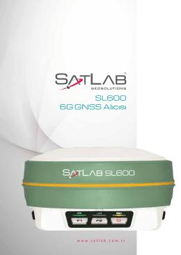 SL600 6G GNSS Alıcısı