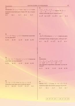 örnek sayfalar - Ezbersiz Matematik
