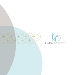 spa menüsü - Karma Spa