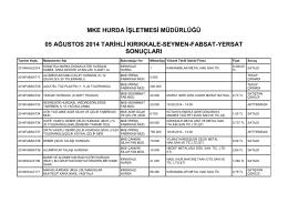 05 ağustos 2014 tarihli kırıkkale-seymen-fabsat