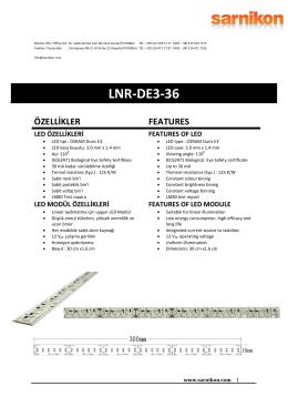 LNR-DE3-36