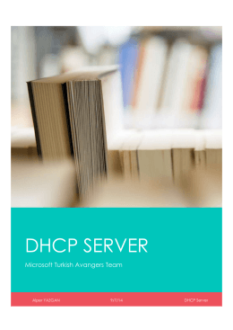 DHCP SERVER - Technet Gallery