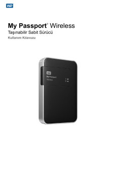 My Passport Wireless User Manual