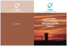 İNCELEME RAPORU - Türkiye İnsan Hakları Kurumu