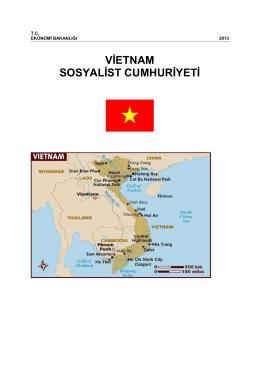 VİETNAM SOSYALİST CUMHURİYETİ