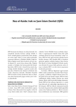 Neo el-Kaide: Irak ve Şam İslam Devleti (IŞİD)