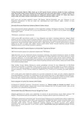 Türkiye İhracatçılar Meclisi (TİM), Aralık ayı ve 2014 geneli