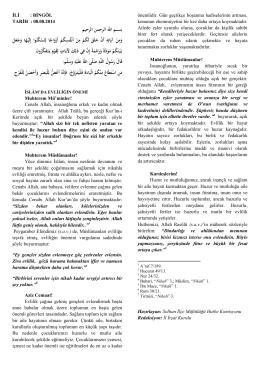 İslamda Evliligin Önemi