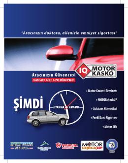 Motor Kasko Teminatı