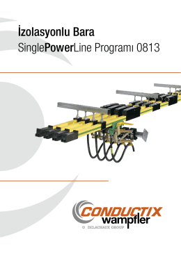 İzolasyonlu Bara SinglePowerLine Programı 0813