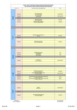 Burak ER Sayfa 1 27.06.2014 - Bursa Teknik Üniversitesi