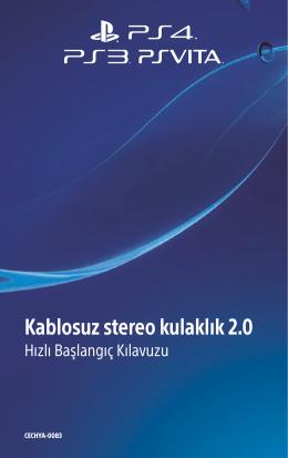 Kablosuz stereo kulaklık 2.0