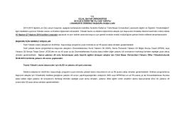 tc celal bayar üniversitesi 2014-2015 öğretim yılı güz