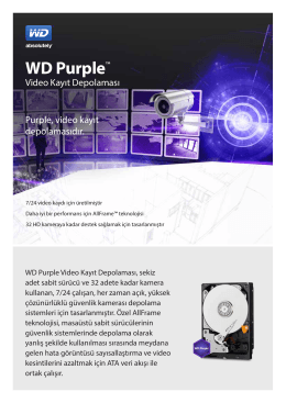 WD Purple™ Surveillance Storage - Product