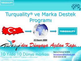 Turquality Sunumu