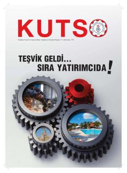 kutso dergi sayı 178 - Kütahya Ticaret ve Sanayi Odası