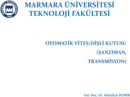 otomatık vıtes kutuları_ıı_2014-2015