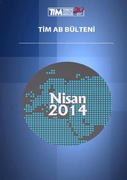 aylık ab bülteni - Türkiye İhracatçılar Meclisi