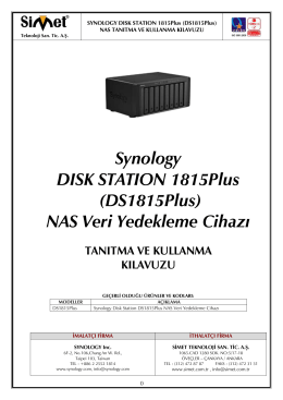 Synology DISK STATION 1815Plus (DS1815Plus)
