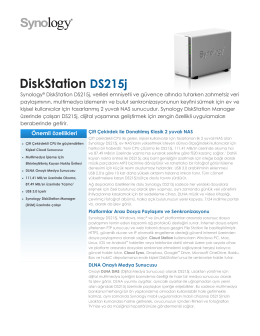 DiskStation DS215j