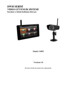 dwh serisi video güvenlik sistemi