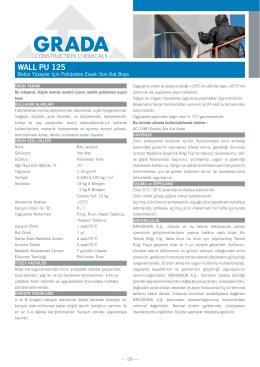 WALL PU 125