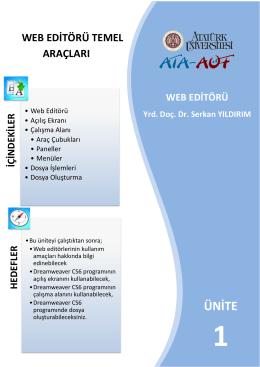 web editörü