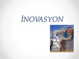 İNOVASYON - Dr. Aykan Candemir