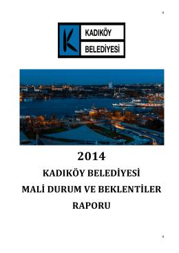 2014 Raporu - Kadıköy Belediyesi