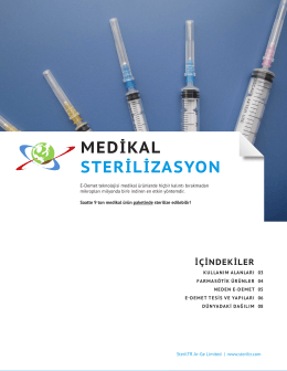 Medikal Ürünler Broşürümüzü buradan