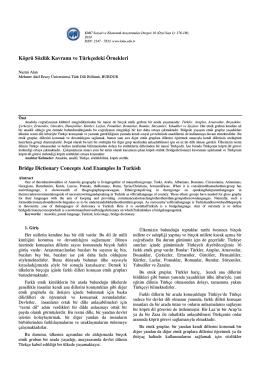 Nazmi ALAN - KMÜ Sosyal ve Ekonomik Araştırmalar Dergisi