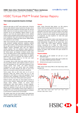 HSBC Turkey Manufacturing PMI (Turkish) - 1404