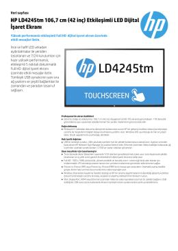 HP LD4245tm 106,7 cm (42 inç) Etkileşimli LED