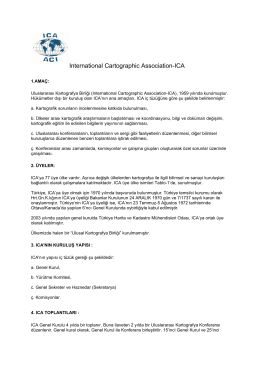 International Cartographic Association-ICA