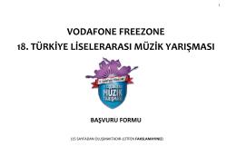 tıkla - Vodafone Freezone