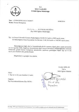 \ffiiı - Bulanık İlçe Milli Eğitim Müdürlüğü