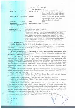Karar No Karar Tarihi 04/11/2014 -1