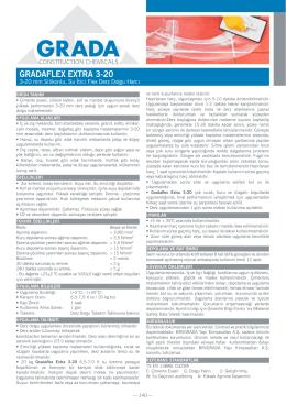 GRADAFLEX EXTRA 3-20