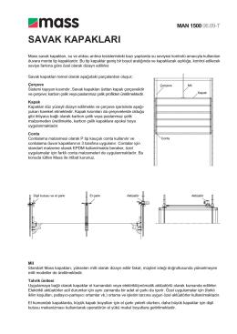 MAN 1500 Broşürü - MASS Arıtma Sistemleri İnşaat San. ve Tic. A.Ş.