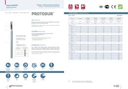 PROTODUR® - Prysmian