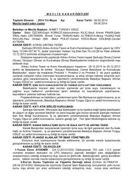 09.05.2014-06.05.2014 Tarihli Karar