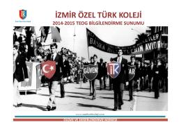 izmir özel türk koleji ölçme ve değerlendirme merkezi