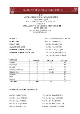 Dönem II-II_kurul 2014