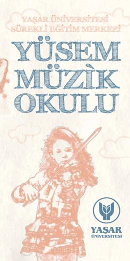YÜSEM Müzik Okulu - Yaşar Üniversitesi | Sürekli Eğitim Merkezi