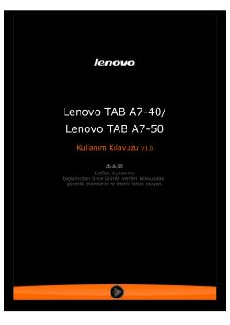 Lenovo TAB A7-40/ Lenovo TAB A7-50