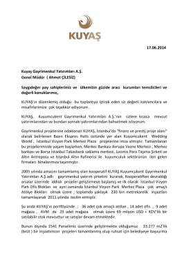 Ahmet ÇİLESİZ - Emlak Kulisi
