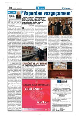 HA BER - gazete kadıköy