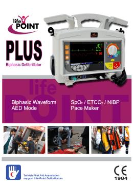 PLUS TR - Life-Point Defibrillator