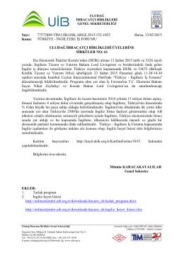 sirkuler 61 türkiye-ingiltere iş forumu
